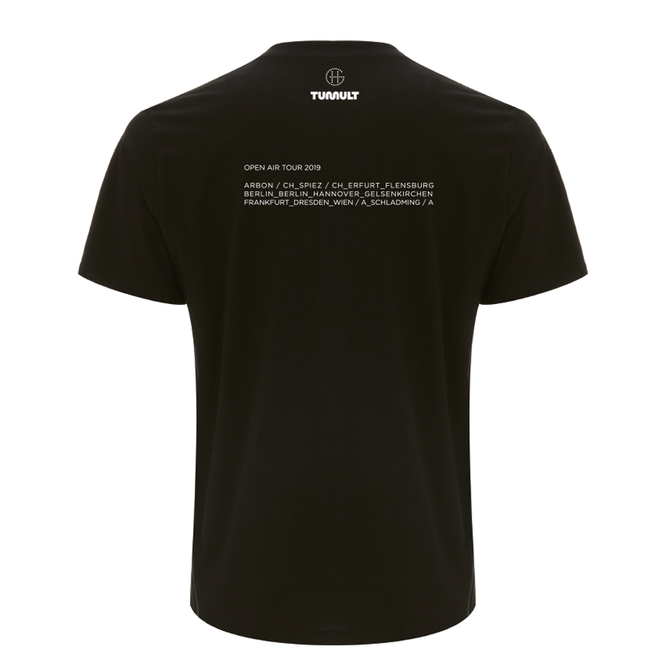 Grönemeyer Shirt Auge T-Shirt black