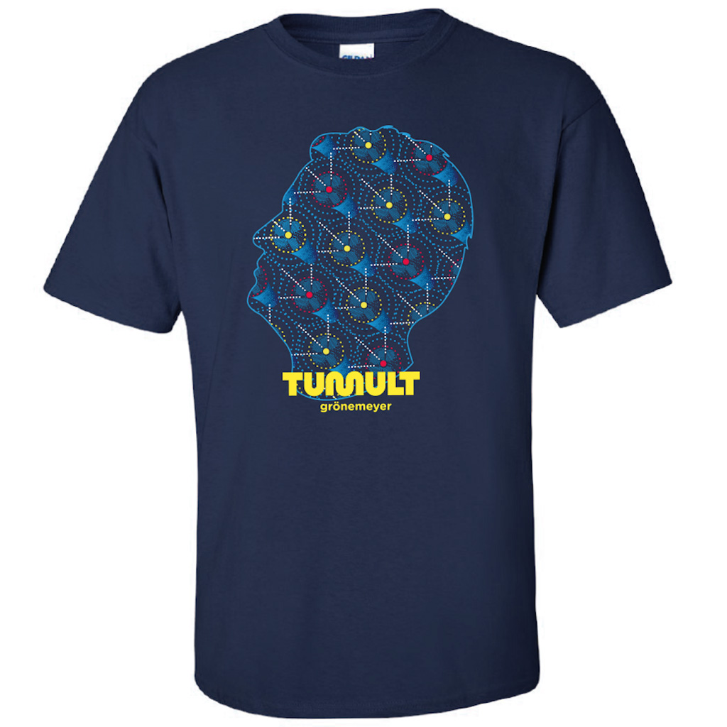 Grönemeyer Tumult Tour 2019 T-Shirt, Navy-blau