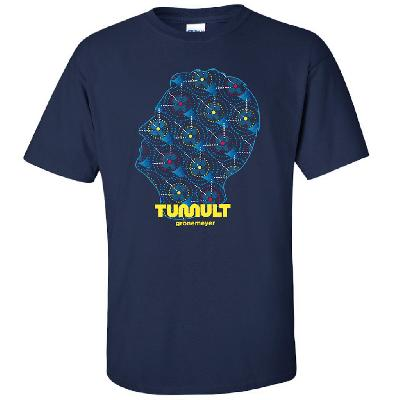 Grönemeyer Tumult Tour 2019 T-Shirt Navy-blau